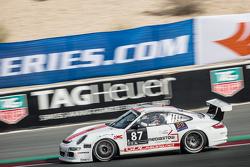 #87 GDL Racing Porsche 997 Cup: Bashar Mardini, Nigel Farmer, Lim Koeng Liam, Paul Stubber, Gianluca