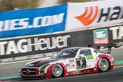#9 Hofor-Racing, Mercedes SLS AMG GT3: Michael Kroll, Kenneth Heyer, Christiaan Frankenhout, Roland Eggimann, Roland Rehfeld