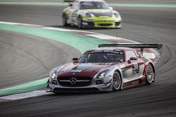 #30 Ram Racing, Mercedes SLS AMG GT3: Cheerag Arya, Thomas Jäger, Tom Onslow-Cole, Adam Christodoulou