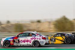 #76 Racingdivas by Las Moras, BMW M235i Racing Cup: Liesette Braams, Sandra van der Sloot, Gaby Ulje