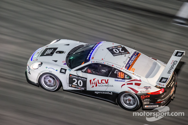 #20 MRS GT-Racing Porsche 991 Cup: Manuel Nicolaidis, Olivier Baharian, Thierry Blaise, Johnson Huan