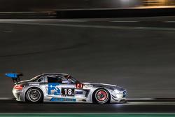 #18 Preci - Spark 梅赛德斯 SLS AMG GT3: David Jones, Godfrey Jones, Philip Jones, Gareth Jones, Morgan J