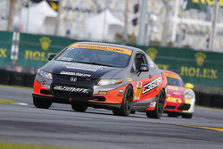 #77 Compass360 Racing Subaru WRX STI: Benoit Theetge, Donald Theetge