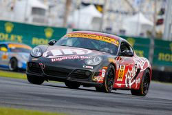 #88 Rebel Rock Racing Porsche Cayman: Jim Jonsin, Erik Valdez