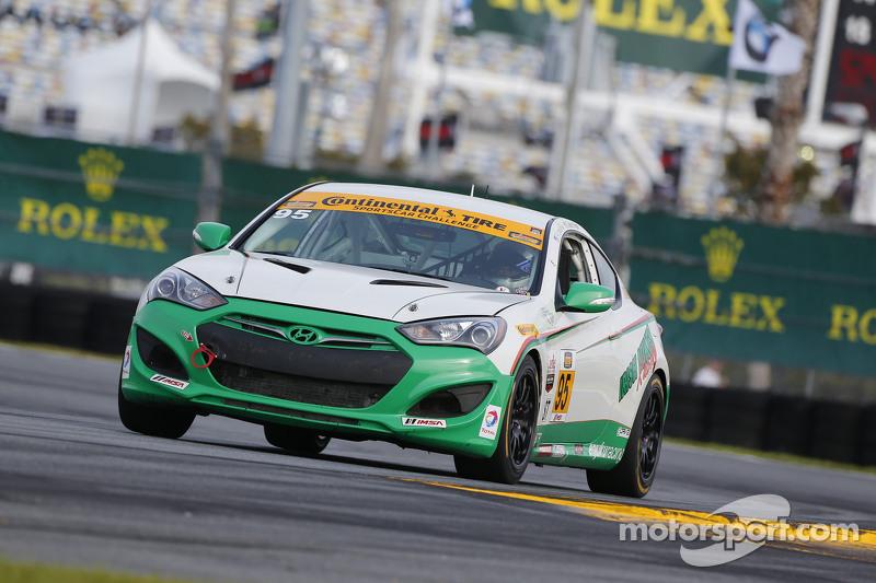 #95 Irish Mike's Racing, Hyundai Genesis: Conor Flynn, Alix Bolans