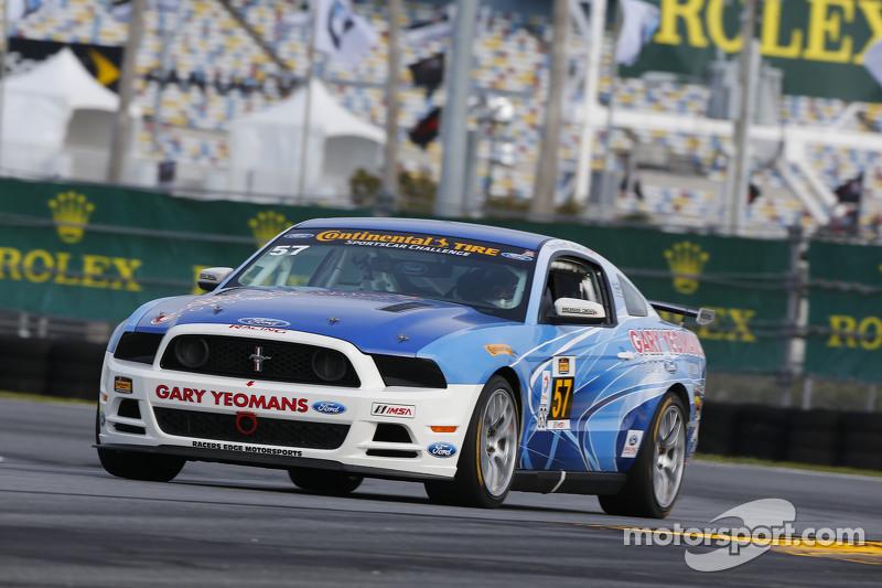 #57 Racers Edge Motorsports,野马Boss 302R: Michael Lira, Timmy Rivers