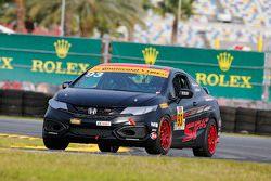 #93 HART Honda Civic Si: Chad Gilsinger, Peter Cunningham