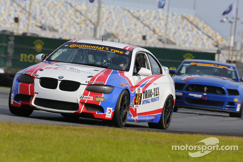 #46 Fall-Line Motorsports, BMW M3: Trent Hindman, Ashley Freiberg