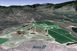 Area 27, nouveau circuit à Osoyoos, Colombie britannique, Canada