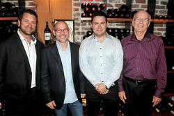 Trevor Seibert, Jacques Villeneuve, Bill Drossos et David King , Area 27