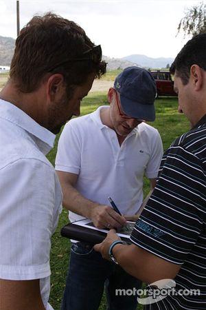 Track planning con Jacques Villeneuve