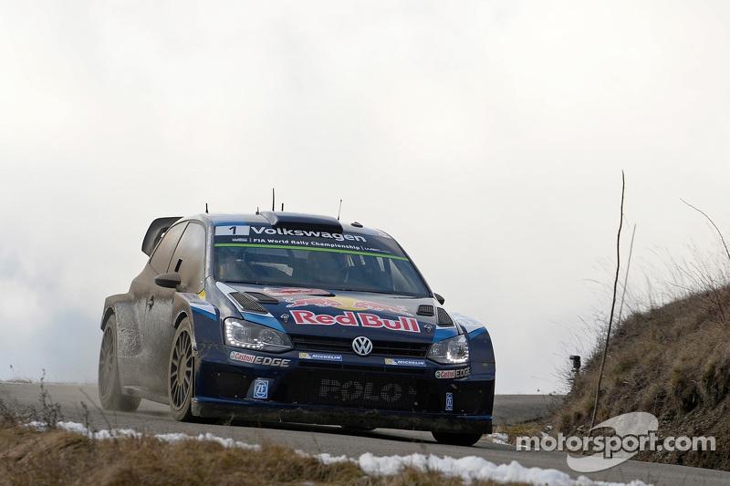 2015 - Troisième victoire d'Ogier : Volkswagen Polo R WRC