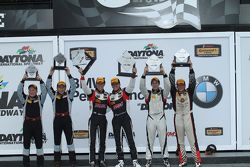 ST klassepodium: winnaars Spencer Pumpelly, Luis Rodriguez Jr.