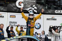 Race winner Matt Plumb