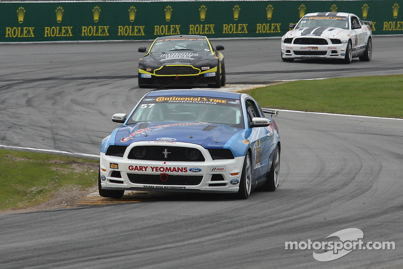 #57 Racers Edge Motorsports, Mustang Boss 302R: Michael Lira, Timmy Rivers