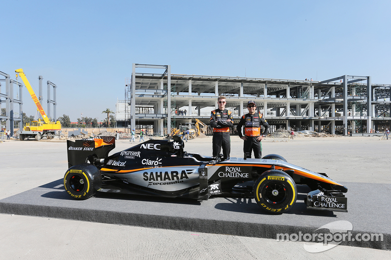 Ніко Хюлкенберг, Sahara Force India F1 з напарником по команді Серхіо Перес, Sahara Force India F1