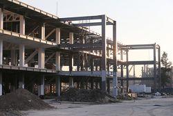 Pit binası inşaatı