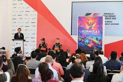 Federico Alaman, Sergio Perez, Sahara Force India F1 et Nico Hulkenberg, Sahara Force India F1