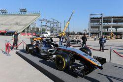 Sahara Force India F1 Takımı 2015 renk düzeni ortaya çıkıyor