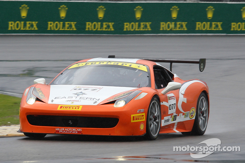 #077 Miller Motorcars, Ferrari 458: Joe Courtney