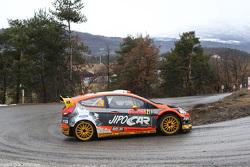 Martin Prokop y Jan Tomanek, del Ford Fiesta RS WRC