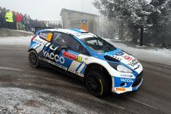 Julien Maurin y Nicolas Klinger, de Ford Fiesta RRC