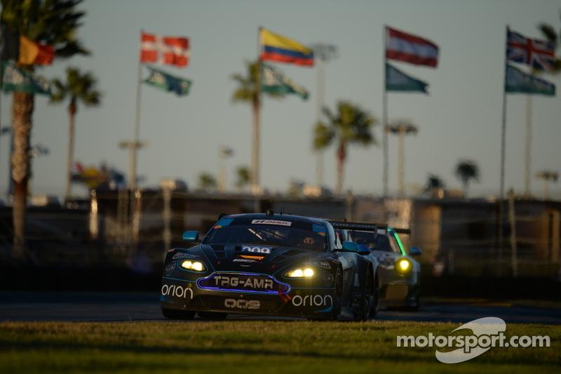 #009 TRG-AMR, Aston Martin V12 Vantage: Derek DeBoer, Max Riddle, Eliseo Salazar, Brandon Davis