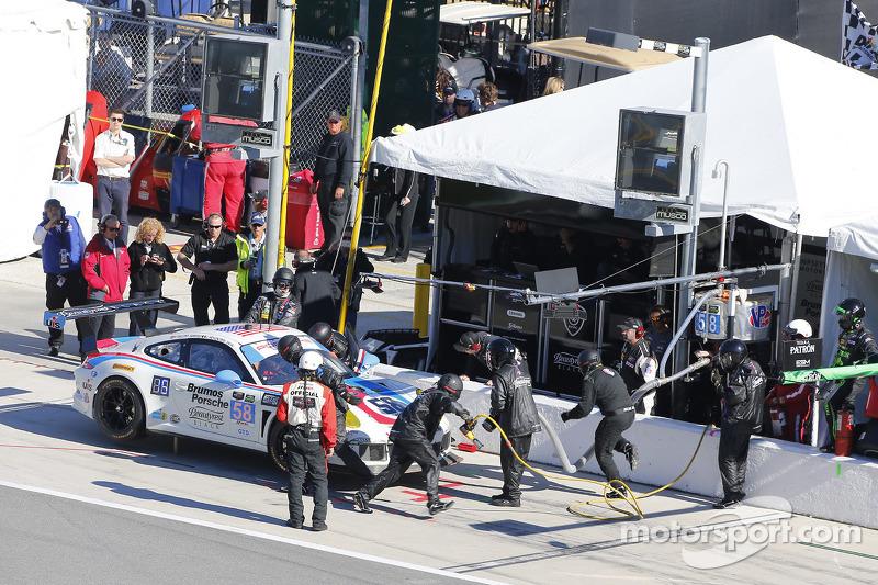 #58 Wright Motorsports,保时捷911,美洲GT赛: Madison Snow, Jan Heylen, Patrick Dempsey, Philipp Eng