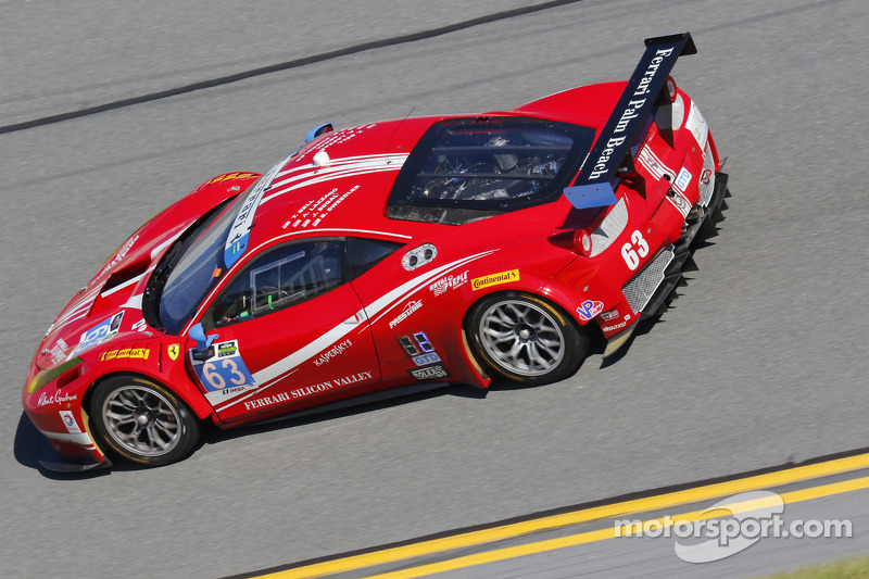#63 Scuderia Corsa 法拉利458 Italia: Bill Sweedler, Townsend Bell, Anthony Lazzaro, Jeff Segal, Jeff Westphal