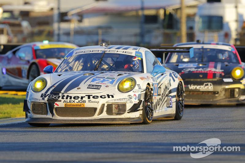 #22 Alex Job Racing, Porsche 911 GT America: Cooper MacNeil, Leh Keen, Andrew Davis, Shane van Gisbergen