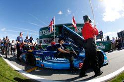 #90 VisitFlorida.com Racing, Corvette DP: Richard Westbrook, Michael Valiante, Mike Rockenfeller, Gu