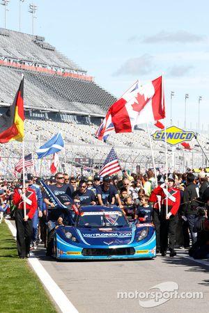 #90 VisitFlorida.com Racing, Corvette DP: Richard Westbrook, Michael Valiante, Mike Rockenfeller, Guy Cosmo