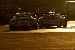 #911 Porsche North America Porsche 911 RSR: Nick Tandy, Marc Lieb, Patrick Pilet, Michael Christensen in difficoltà