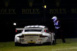 #911 Porsche North America Porsche 911 RSR: Nick Tandy, Marc Lieb, Patrick Pilet, Michael Christensen in trouble