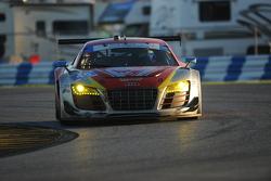 #45 Flying Lizard Motorsports Audi R8 LMS: Markus Winkelhock, Robert Thorne, Satoshi Hoshino, Tomono