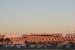 De zon komt op boven Daytona