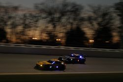 #97 Turner Motorsport BMW Z4: Michael Marsal, Markus Palttala, Andy Priaulx, Boris Said, #24 BMW Tea