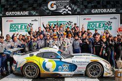 GTD-Podium: #93 Riley Motorsports, Dodge Viper SRT: Al Carter, Ben Keating, Dominik Farnbacher, Kuno