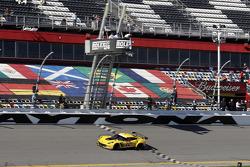 #3 Corvette Racing Chevrolet Corvette C7.R: Jan Magnussen, Antonio Garcia, Ryan Briscoe takes the GTLM class win