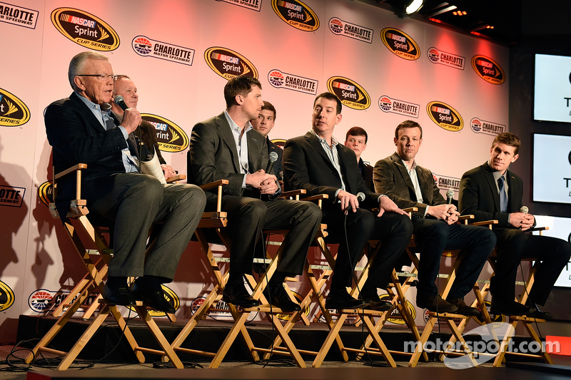 Proprietari del Team Joe Gibbs, Denny Hamlin, Kyle Busch, Matt Kenseth, Carl Edwards