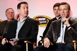 Kyle Busch, Matt Kenseth, del Joe Gibbs Racing
