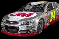 Jeff Gordon's 3M paint scheme for 2015
