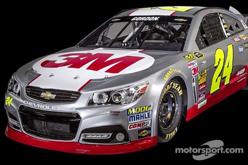 Jeff Gordon2015赛季的3M涂装