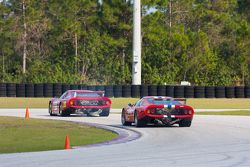 Ferrari 512BB/LMs en la pista