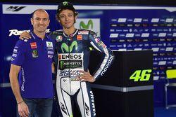 Massimo Meregalli with Valentino Rossi