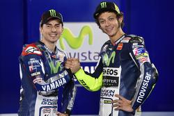 Valentino Rossi und Jorge Lorenzo, Yamaha Factory Racing