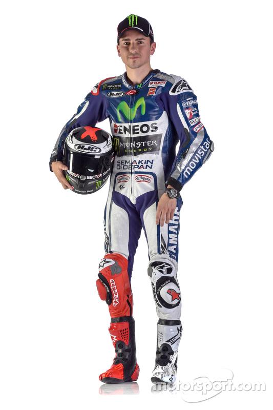 Jorge Lorenzo, da Yamaha Factory Racing