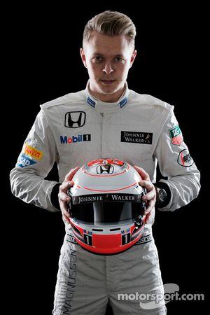Kevin Magnussen, troisième pilote McLaren Honda