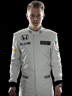 Kevin Magnussen, third driver McLaren Honda