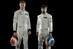 Jenson Button and Fernando Alonso, McLaren Honda
